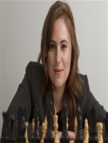 Judit Polgar.  She became a chess grandmaster at age 15 y, 4 mos, the yougest ever at that time