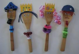 Queen Esther (third from Left)